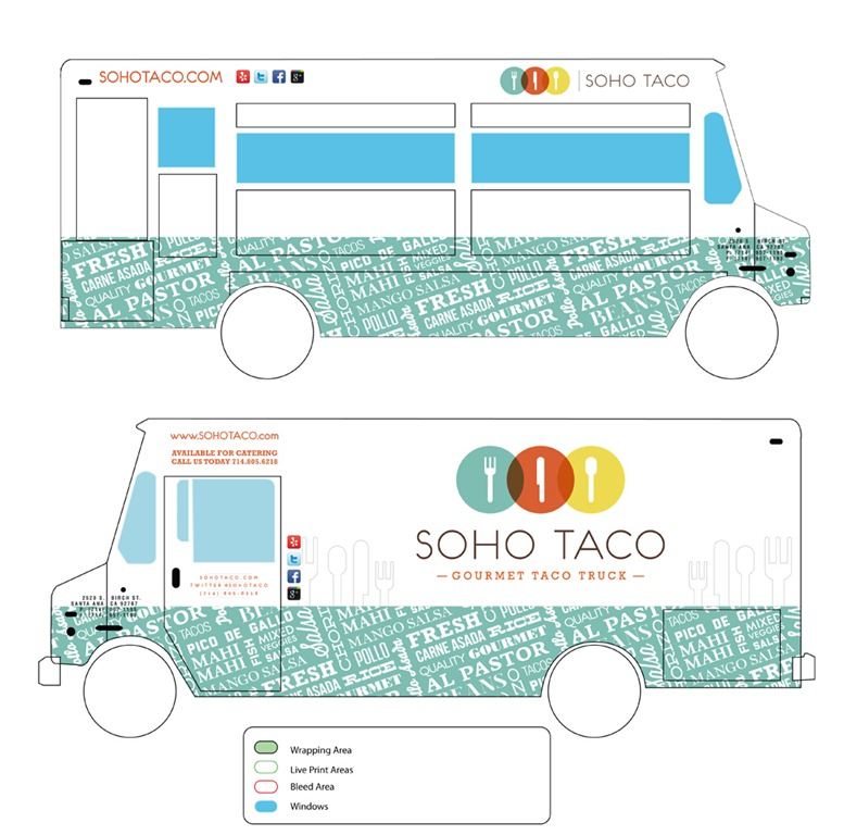 Gourmet food truck news check out our fancy schmancy for Food truck design app