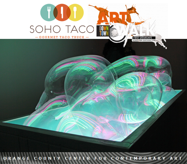 SoHo Taco Gourmet Food Truck - Orange County Center for Contemporary Art - OCCCA - Art Walk - Santa Ana - Orange County CA