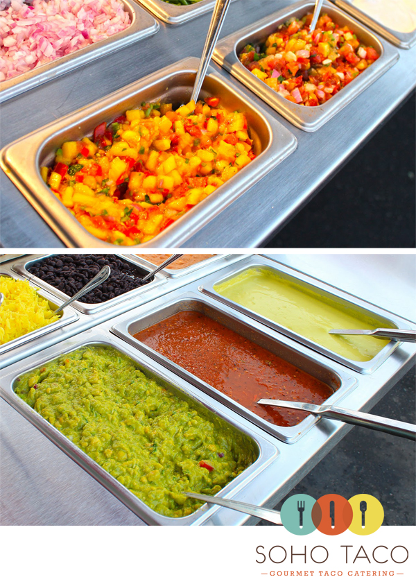 SoHo-Taco-Gourmet-Taco-Catering-&-Food-Truck---Orange-County---CA---Salsas