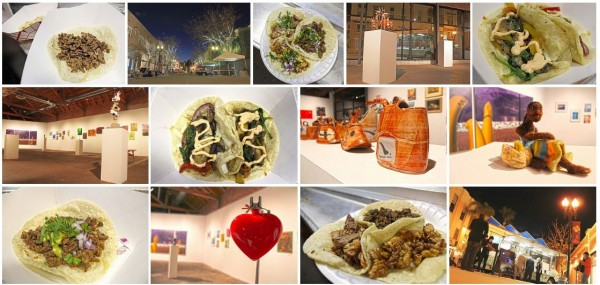 SoHo Taco Gourmet Taco Truck OCCCA Santa Ana Orange County CA Artists Village Art Walk Google Plus Album