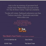 SoHo Taco Gourmet Taco Truck - Gourmet Food Trucks - OC Fair & Event Center - Costa Mesa - Orange County - CA - Flyer