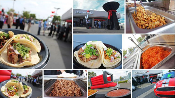 SoHo Taco Gourmet Taco Cart Catering - Crevier BMW - Santa Ana - Mini Cooper 10 Year Anniversary - Orange County - album