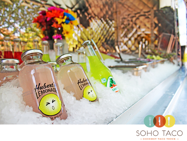 SoHo Taco Gourmet Taco Truck - OC Fair & Events Center - Costa Mesa CA - Huberts Lemonade - April 2012 - Logo