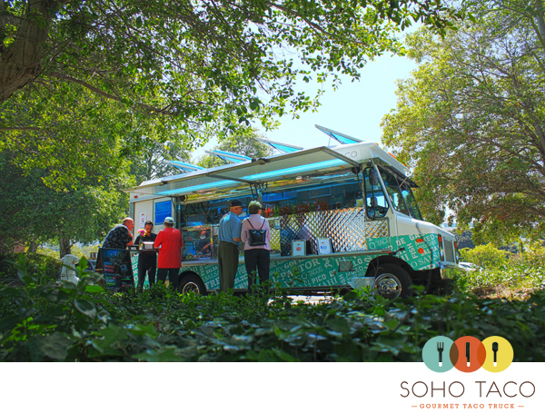 SoHo Taco Gourmet Taco Truck - OC Museum of Art - Newport Beach - Orange County - July 2012