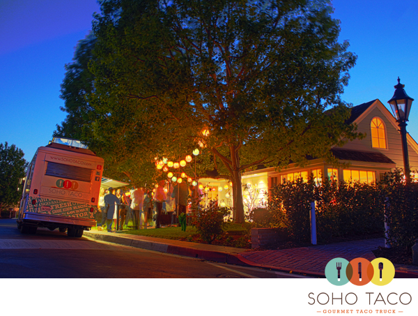 SoHo Taco Gourmet Food Truck - Newport Beach - Orange County CA - Private Catering Birthday Event
