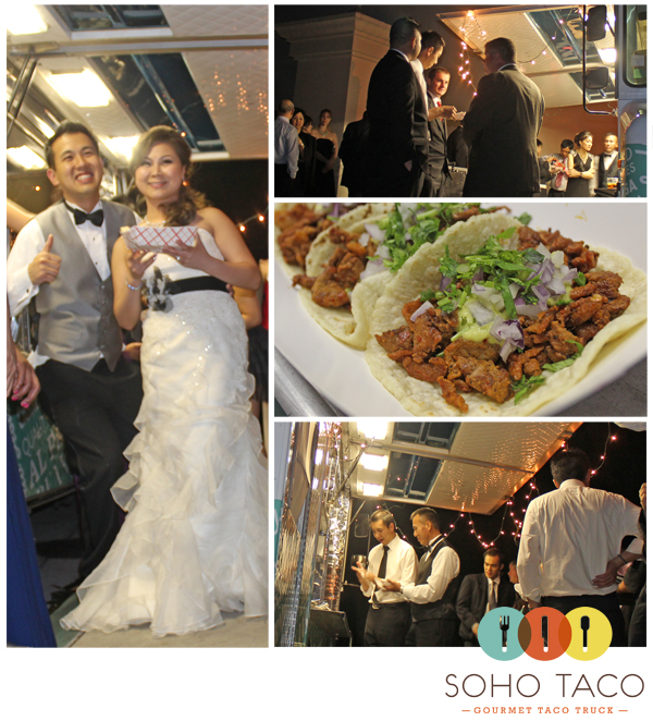 Wedding Reception Food Truck Catering At The St Regis Hotel Dana Point Ca Soho Taco
