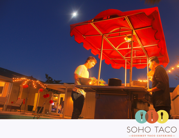 SoHo Taco Gourmet Taco Cart Catering - Dana Point - Orange County - CA