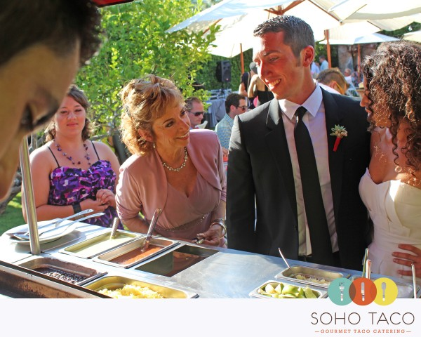 SoHo Taco Gourmet Taco Cart Catering LLC - The Cielo Estate - Palm Springs CA - Wedding Reception - Main