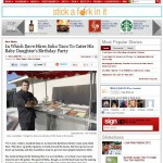 SoHo Taco Gourmet Taco Cart Catering - OC Weekly - Review - Huntington Beach - Orange County - CA - Article