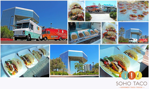 SoHo Taco Gourmet Taco Truck - Food Trucks @ Park Place - Irvine - Orange County CA