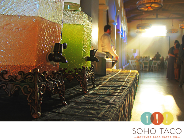 SoHo Taco Gourmet Taco Catering - Aguas Frescas - Horchata - Melon