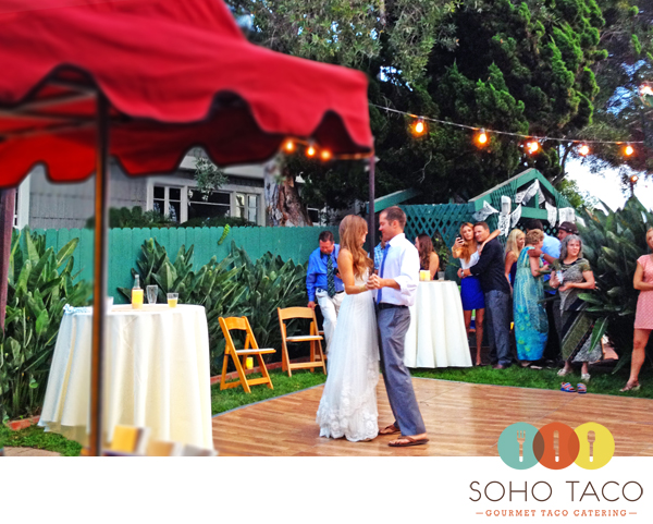SoHo Taco Gourmet Taco Catering - Newport Beach - Orange County - Wedding Reception