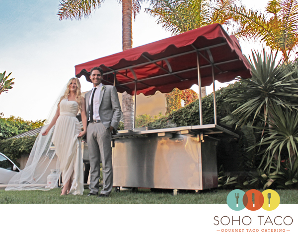 SoHo Taco Gourmet Taco Catering - Wedding - Laguna Beach - Orange County CA