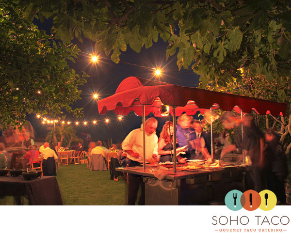 SoHo Taco Gourmet Taco Catering - Los Angeles - Hollywood Hills - Wedding - CA