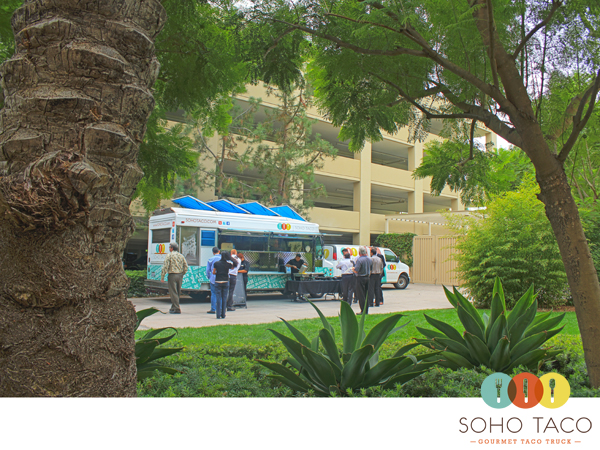 SoHo Taco Gourmet Taco Truck - Telogis Private Lunch Event - Aliso Viejo - Orange County CA