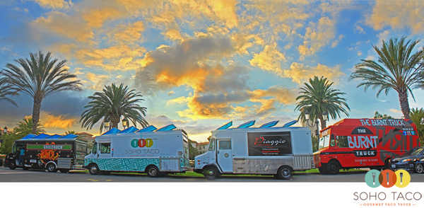 SoHo Taco Gourmet Taco Truck - The Park - Irvine Spectrum - Irvine - Orange County CA
