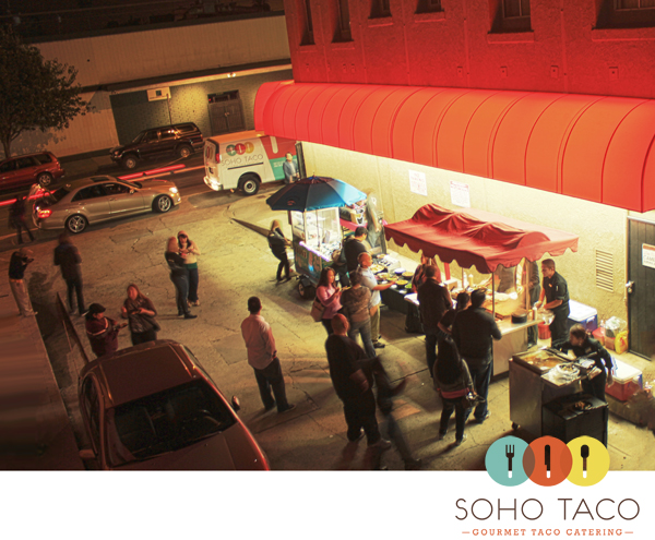 SoHo Taco Gourmet Taco Catering - Long Beach - Red Room - Video Launch Party - Main