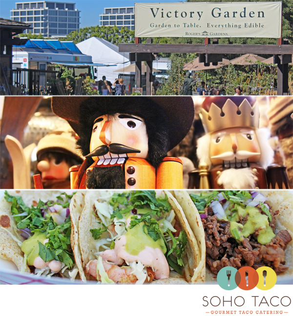 SoHo Taco Gourmet Taco Truck - Food Truck - Roger's Gardens - Newport Beach - Orange County CA