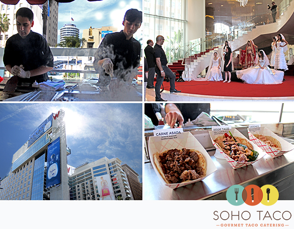 Taco Catering A Los Angeles Wedding Expo At The W Hotel In