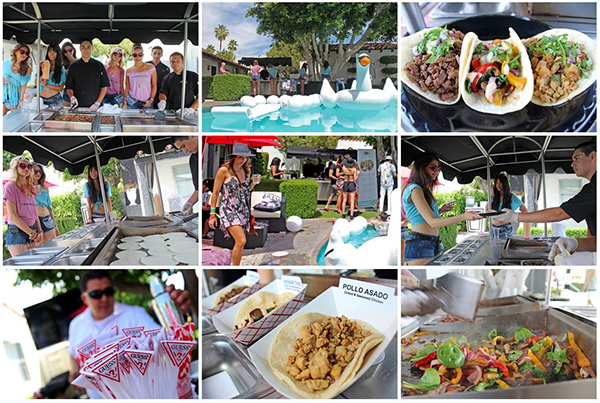 SoHo Taco Gourmet Taco Catering - Coachella 2013 - Guess Pool Party - Viceroy Hotel - Palm Springs CA - Facebook