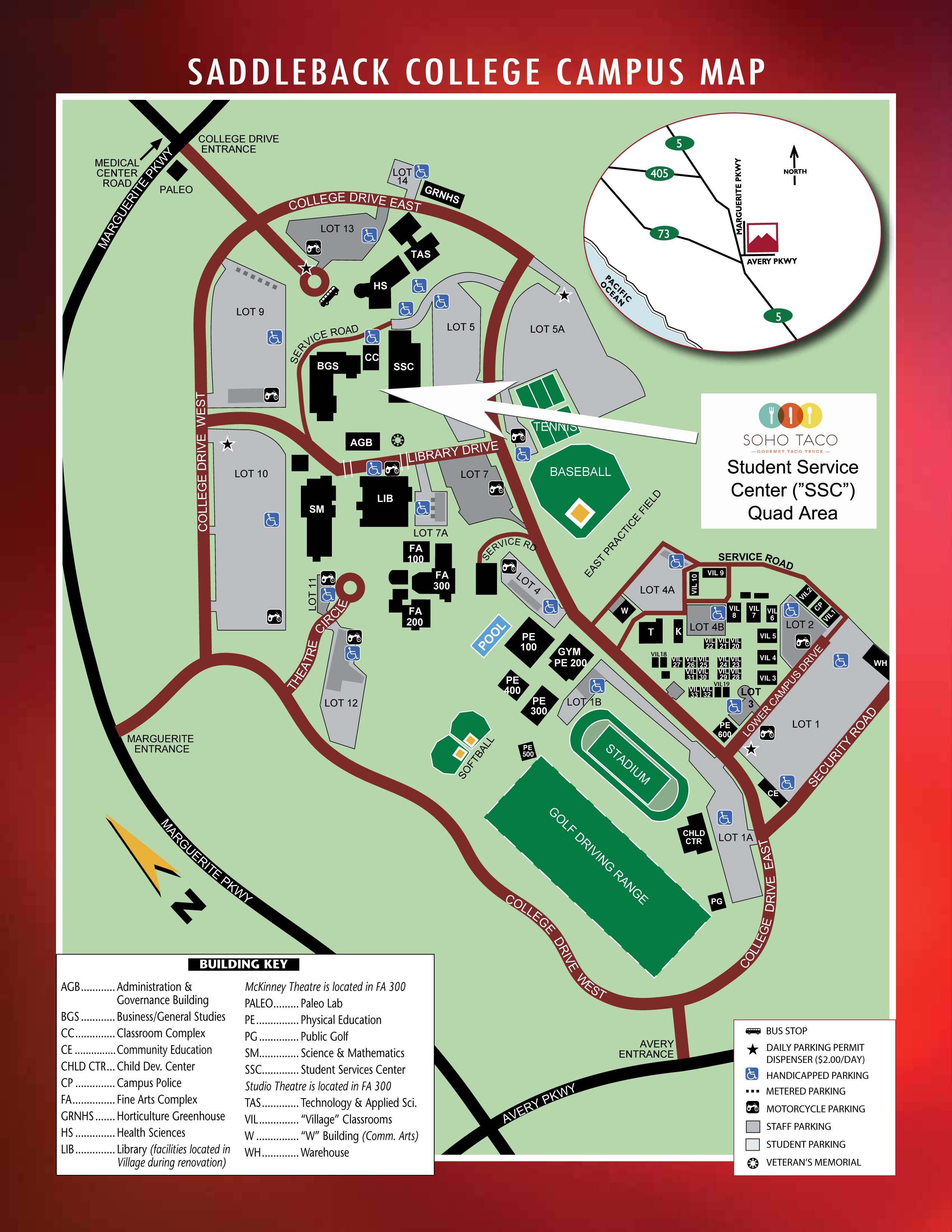 Saddleback College Mission Viejo 75