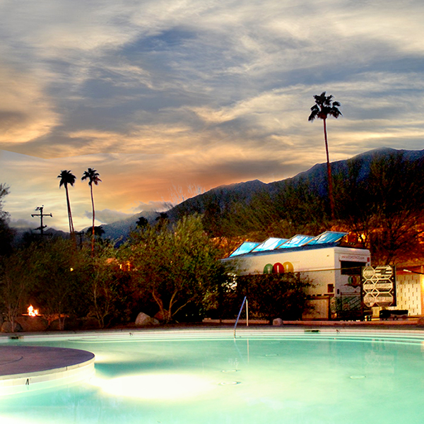 Taco Truck Catering In Palm Springs For A Wedding At The