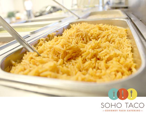 SoHo Taco Gourmet Taco Catering - Lemon Rice - Orange County - Los Angeles CA