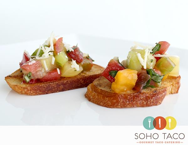 SOHO TACO Gourmet Taco Catering - Appetizers - Rebanadas de Tomates Heirloom