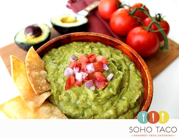 SOHO TACO Gourmet Taco Catering & Food Truck - Guacamole - Orange County - OC
