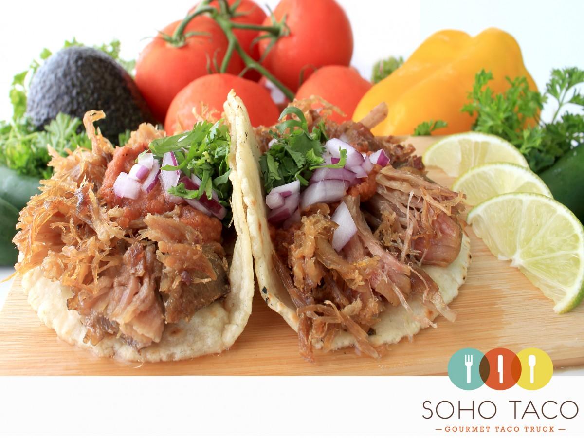 SOHO TACO Gourmet Taco Catering - Orange County - OC - Carnitas