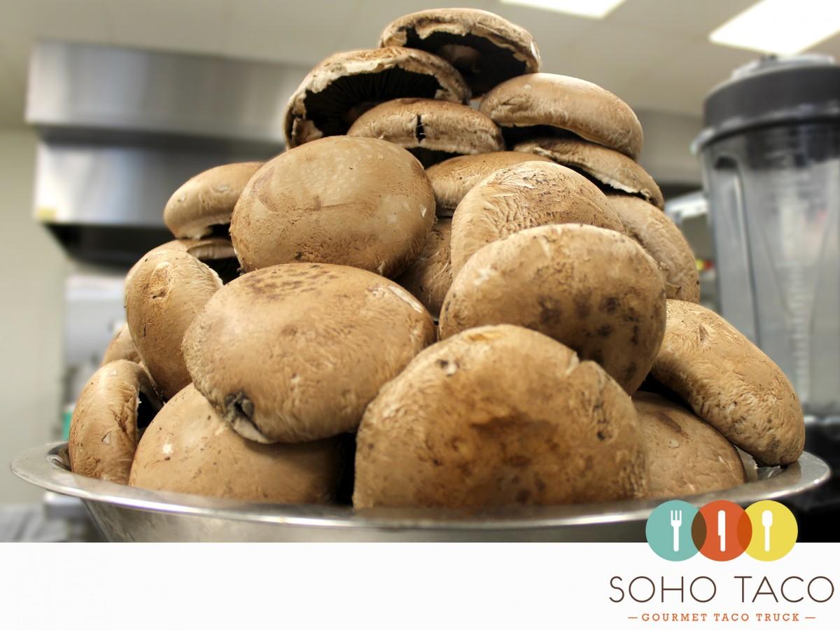 SOHO TACO Gourmet Taco Truck - Portobello Mushrooms - Orange County - OC