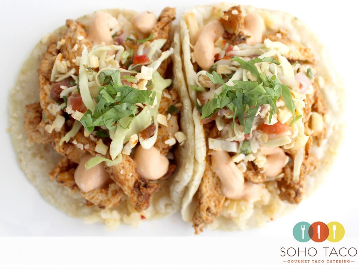 SOHO TACO Gourmet Taco Truck - Blackened Pechuga - Orange County - OC