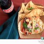 SOHO TACO Gourmet Taco Truck - Veggie & Shrimp Combo - Orange County - OC