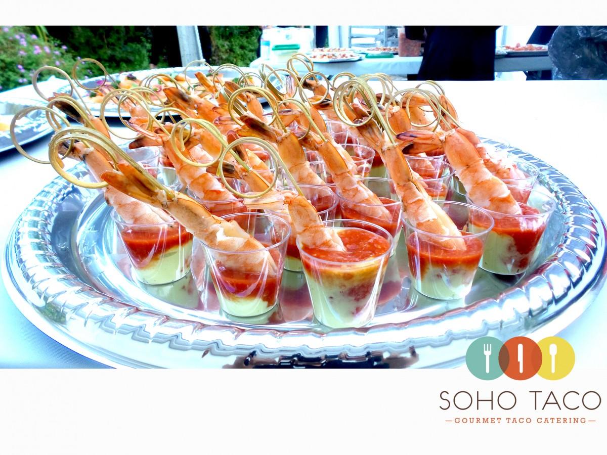 SOHO TACO Gourmet Taco Catering - Casa de Monte Vista - Palm Springs - Appetizers - Camarones