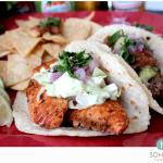 SOHO TACO Gourmet Taco Truck - Blackend Salmon Taco - Orange County - OC