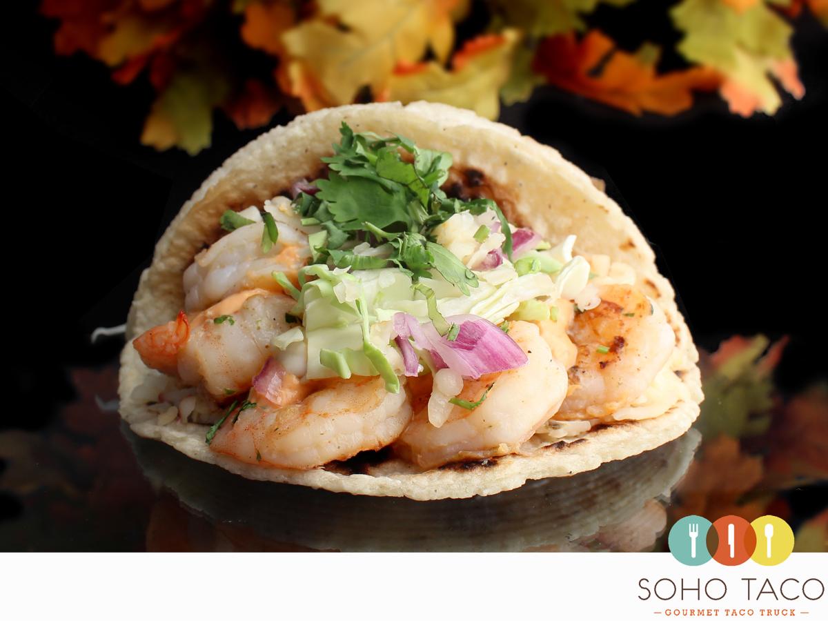 SOHO TACO Gourmet Taco Truck - Camarones - Orange County - OC