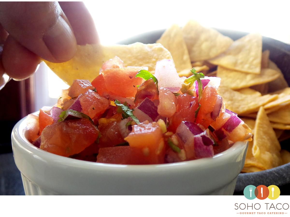 SOHO TACO Gourmet Taco Catering - Los Angeles - Pico de Gallo