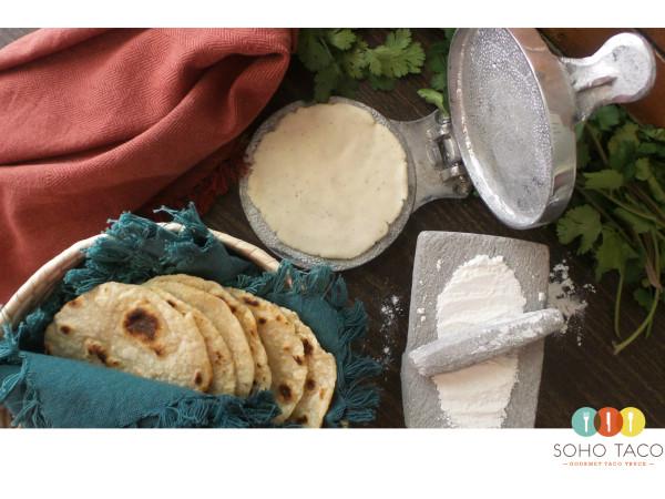 SOHO TACO Gourmet Taco Truck - Los Angeles - Fresh - Handpressed Tortillas