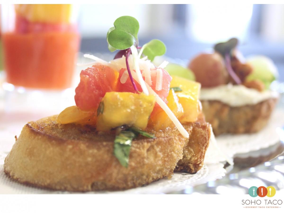 SOHO TACO Gourmet Taco Catering - Rebanadas de Uva - Appetizers - Orange County - OC