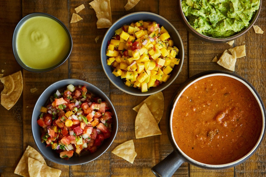 Salsa and Dressings