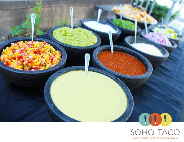 Soho-Taco-Gourmet-Taco-Catering-Huntington-Beach-CA-Salsa-Bar