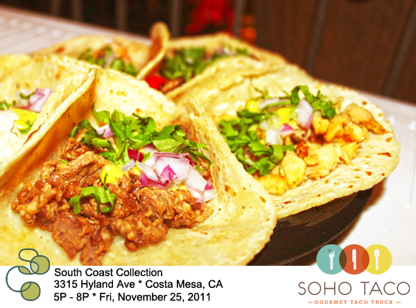 Soho-Taco-Gourmet-Food-Truck-Black-Friday-SoCo-Collection-Costa-Mesa-Orange-County-CA