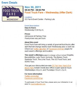 Soho Taco Gourmet Food Truck - Food Truck Fare - OC Fairgrounds - Costa Mesa - Orange County CA
