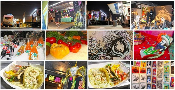 Soho Taco Gourmet Taco Catering & Food Truck - FIND Art Gallery Costa Mesa Orange County CA - 001