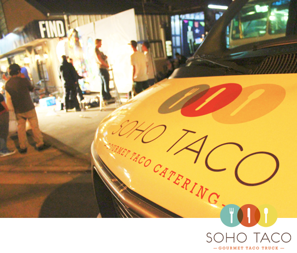 Soho Taco Gourmet Taco Catering & Food Truck - FIND Art Gallery Costa Mesa Orange County CA