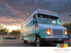 SoHo Taco Gourmet Food Truck Taco Truck Irvine Lanes Orange County CA