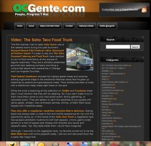 SoHo Taco Gourmet Taco Catering & Food Truck - OC Gente