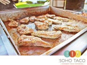 Soho-Taco-Gourmet-Taco-Catering---Wedding-Caterer---Orange-County-CA Mahi Mahi on the grill