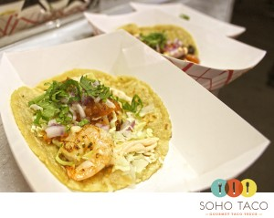 Soho Taco Gourmet Taco Truck - OC Fairgrounds and Events Center - Costa-Mesa - Orange County CA - Shrimp Tacos