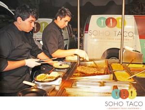 SoHo Taco Gourmet Taco Catering - Los Angeles - Orange County - Superbowl Sunday